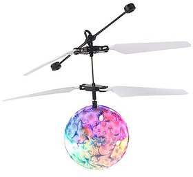 VU4 Flying Ball With 3D Light Motion Sensors (Multicolor)