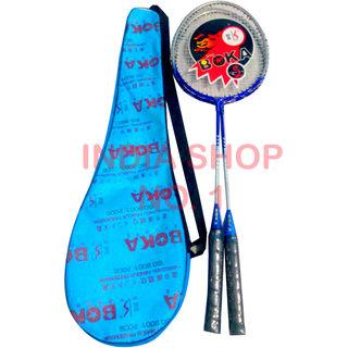 Boka Badminton Racquet Set of 2 + Cover