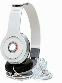 Over Headphone  Earphones (White)