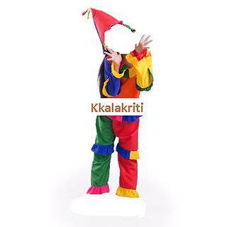 Joker Or Clown Fancy Dress Costume For Kids