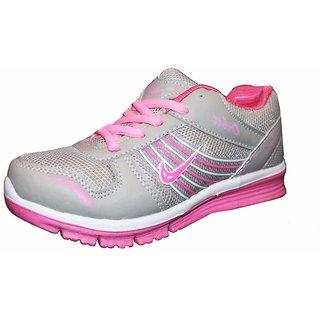 Orbit Sport Running Shoes LS 006 Grey Pink