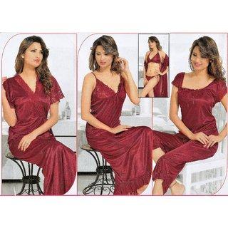 Buy Hotnspicy Womens Nightwear Set of Six Pc Designer Nighty Online ... dd56b465fe