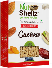 Nutshellz CASHEWS NUT (1.5 kg) [Kaju / Jeedipappu / Munthiri / Andiparippu / Geru Beeja / Kazu / Kashuvandiparippu / Parangi Andi] {Raw White Whole Kernels} - Export Grade W240 - KING SIZE | Packed with rich nutrients | Delicious, Fresh & Crispy | Tasty e