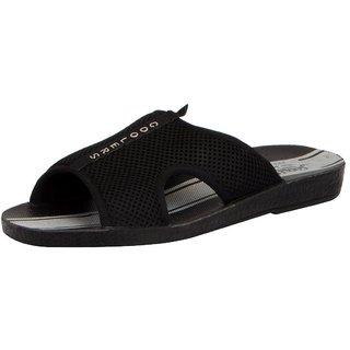 280fdd308 Buy Liberty Coolers Men s Platy Black Slippers Online   ₹349 from ...