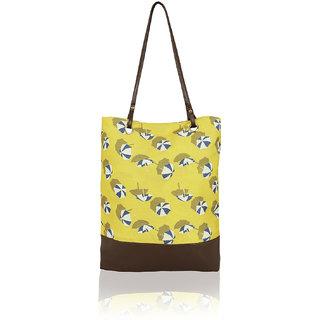 Kleio Stylish PU Big Tote Bags For Women / College Girls