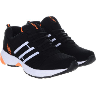 Lancer Black Orange Shoes