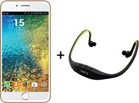 IKall K1 (Dual Sim,1 GB, 8 GB)  + Neckband Music Player