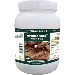 Herbal Hills Premium Quality Arjuna Terminalia Arjuna Capsule 700 in a pack - Powerful Blood Circulatory system support