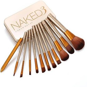 Cosmetic Makeup Brush Set - 12 Piece Set