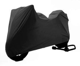 TVS Apache RTR 180 Microfibre Water Resistant Bike Body Cover - Black