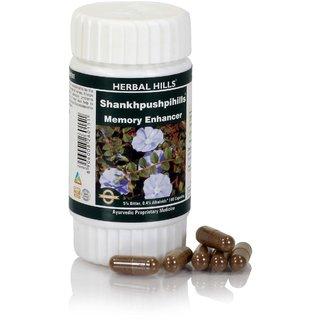 Herbal Hills Shakhpushpi (convolvulus pluricaulis) Pure Extract -60 capsule 240 mg