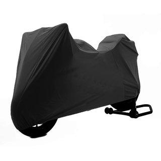TVS Apache RTR 180 Microfibre Water Resistant Bike Body Cover - Black