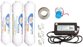Divine RO systems RO service kit carbon, sediment, sv, smps RO filter for water purifier