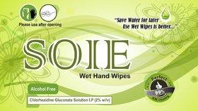 SOIE Hand Wipes (20)