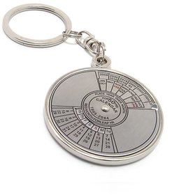 Phonoarena 50 Years Calendar Keychain-Silver Set Of 1