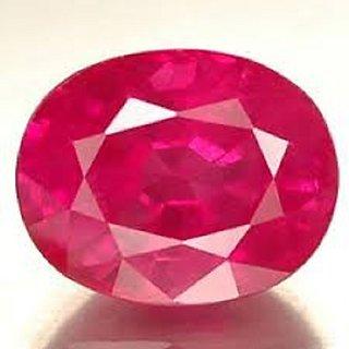 Jaipur Gemstone 5.00 ratti ruby(manik)