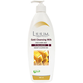 Lilium Gold Cleansing Mlik 500ml