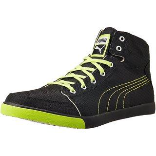 PUMA Mens Black Sneakers