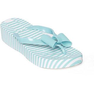 Vaniya Shoes Green Slippers