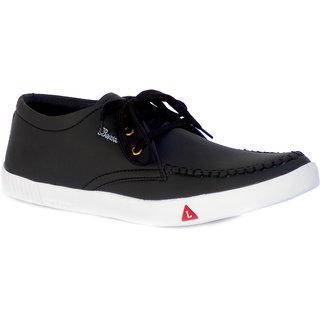 buy mrchief black men's lace up smart casual shoes online