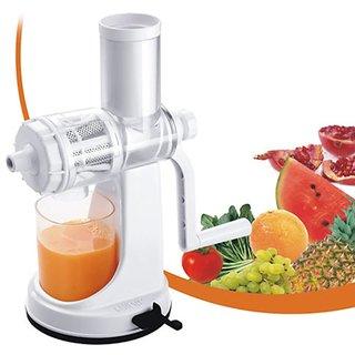 Center juicer deluxe model