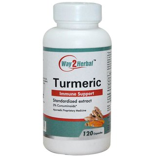 Way2Herbal Turmeric 120 capsules