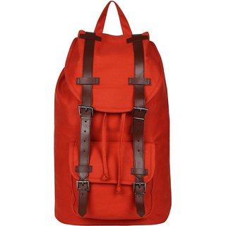 Anekaant Jumbo Rust Canvas Backpack