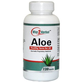 Way2Herbal Aloe 120 Capsules