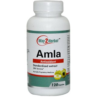 Way2Herbal Amla 120 Vapsules