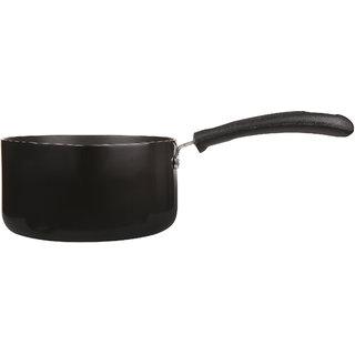 Marlex Hard Anodised Spazio (3 Mm Series) Sauce Pan 11 Inch