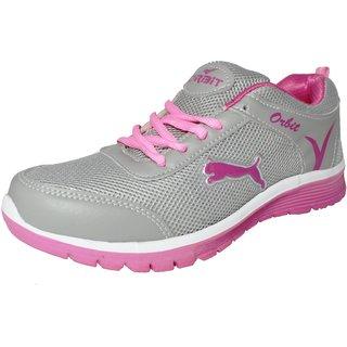 Orbit Sport Running Shoes Ls16 Grey Pink