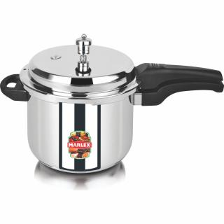 Marlex Stainless Steel Outer Lid Romantica 3 L Pressure Cooker (Stainless Steel)