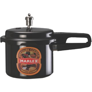 Marlex Hard Anodized Outer Lid Pressure Cooker - Maestro 3 Ltr