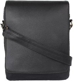 PY Fashion Pu Black Sling Bag