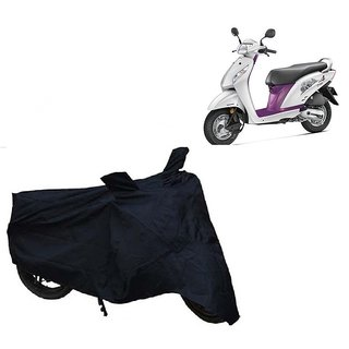 AutoAge Two Wheeler Black Cover for Honda Activa i