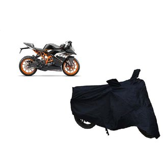 AutoAge Two Wheeler Black Cover for KTM RC 390