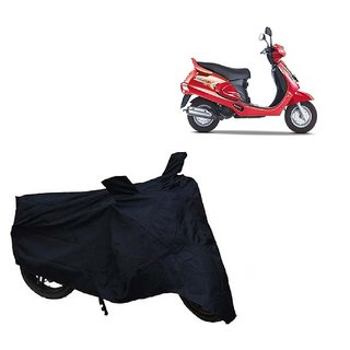 AutoAge Two Wheeler Black Cover for Mahindra  Duro