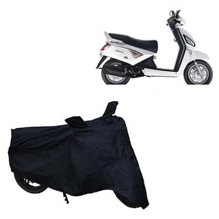 AutoAge Two Wheeler Black Cover for Mahindra  Gusto