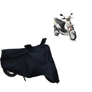 AutoAge Two Wheeler Black Cover for Hero Electric Bikes Electric E-Sprint