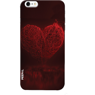 PEEPAL iPhone6-6s Designer & Printed Case Cover 3D Printing Heart Design