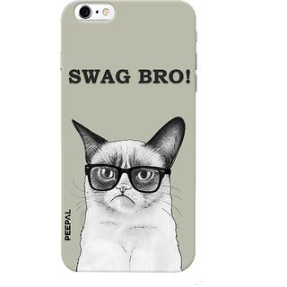 PEEPAL iPhone6-6s Designer & Printed Case Cover 3D Printing Billi Swag Design