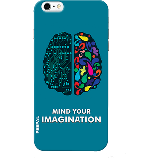 PEEPAL iPhone6-6s Designer & Printed Case Cover 3D Printing Technology Vs Art Design