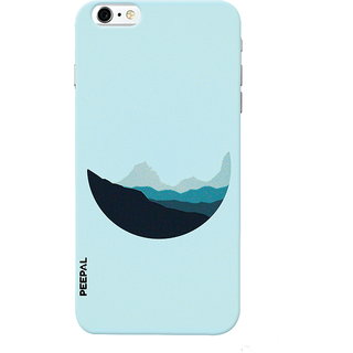 PEEPAL iPhone6-6s Designer & Printed Case Cover 3D Printing Lovely Moon Design