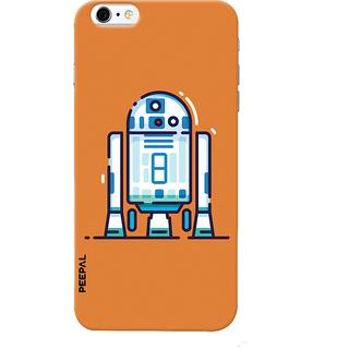 PEEPAL iPhone6-6s Designer & Printed Case Cover 3D Printing Cyborg Design