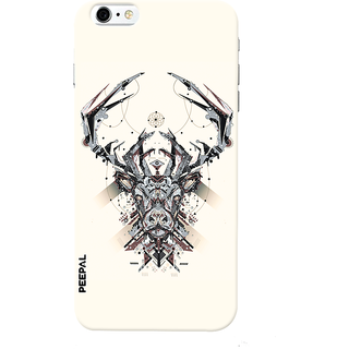 PEEPAL iPhone6-6s Designer & Printed Case Cover 3D Printing Technology Demon Design