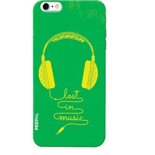 PEEPAL iPhone6-6s Designer & Printed Case Cover 3D Printing Lost in Music Design