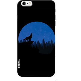 PEEPAL iPhone6-6s Designer & Printed Case Cover 3D Printing Ware wolf Design
