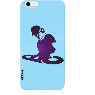 PEEPAL iPhone6-6s Designer & Printed Case Cover 3D Printing DJ Music Design