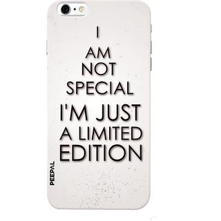 PEEPAL iPhone6-6s Designer & Printed Case Cover 3D Printing Quote Design