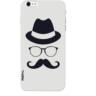 PEEPAL iPhone6-6s Designer & Printed Case Cover 3D Printing Gentelman Design